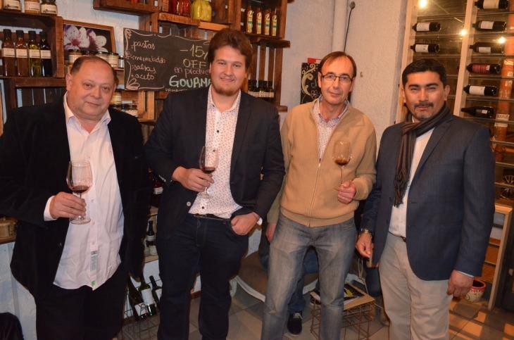 10-Claudio Rodriguez, Alessandro Conti, Alejandro Di Doménico y Mario Ramos