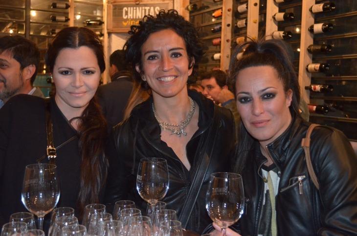 16-Petra Dominguez, Mariela Tenutta y Gachy Dominguez