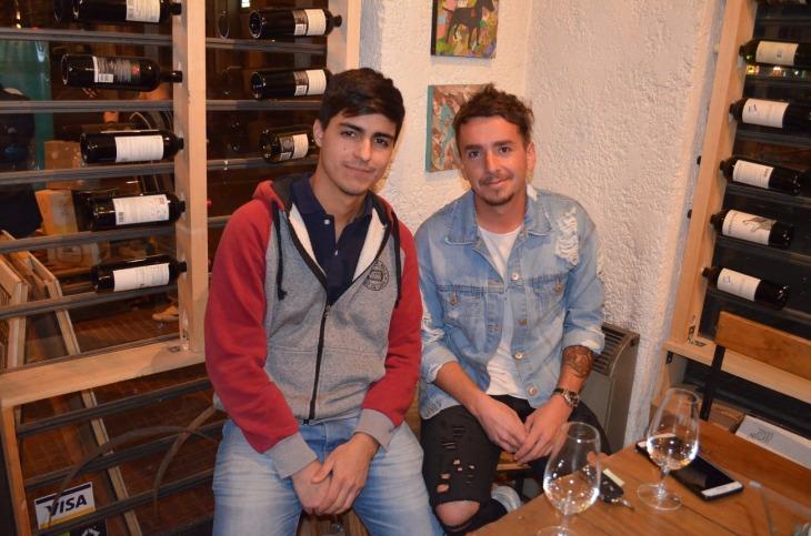 17-Pablo Pizarro y Gonzalo Bolado