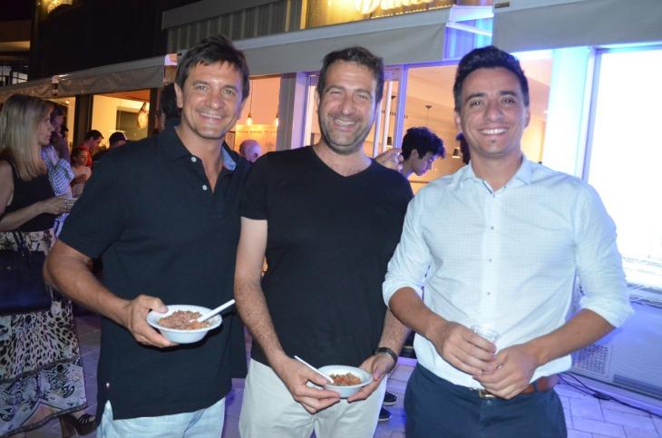 Alberto Cortese Mario Isgro y Marcos Calvente
