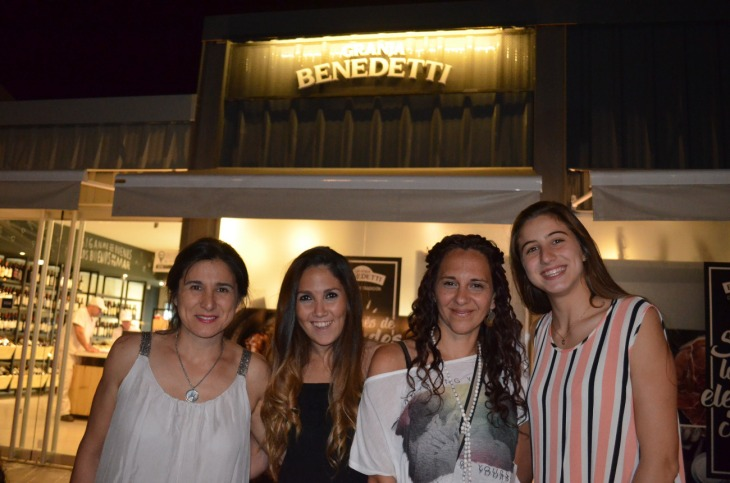 Alicia Venturella Melisa Vera Andrea Mendoza Ghinaudo y Camila Benedetti
