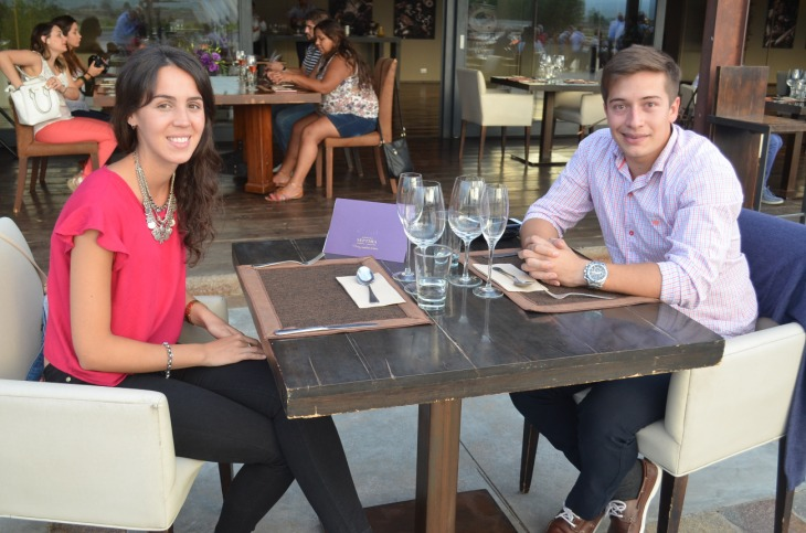 Antonella Guadatti y Pablo Correas