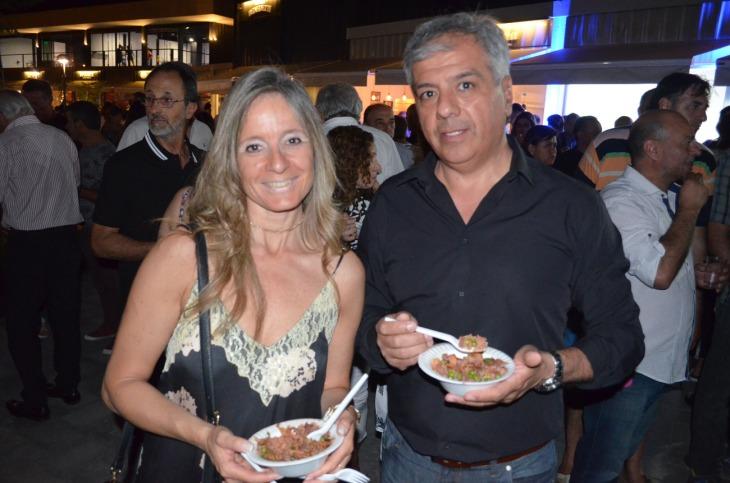 Belén Micieli y Eduardo Manyugüi