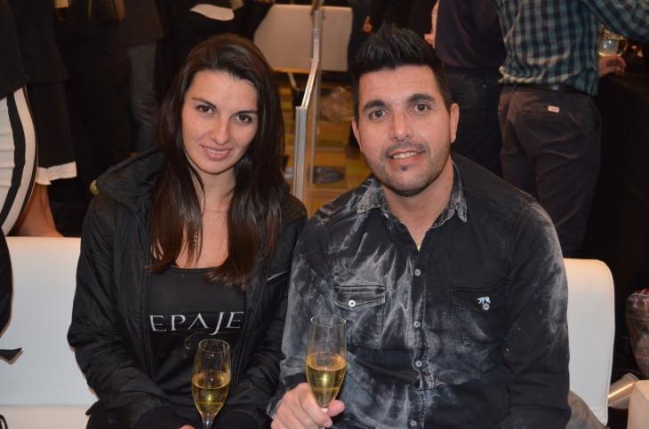 Carla Peroni y Cristian Chatore