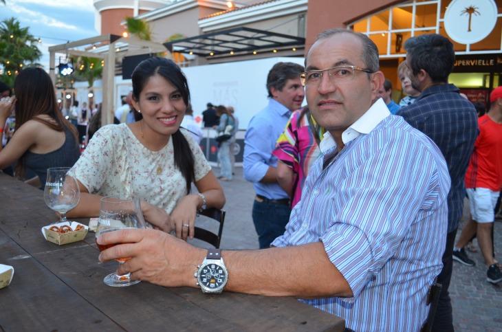 Celia Rodas y Marcelo Arrigo