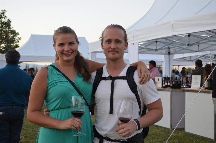 Celina Welbers y Martin Kjeldsen