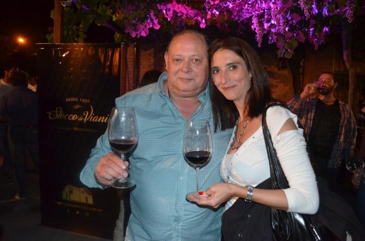 Claudio Rodriguez y Vanesa López