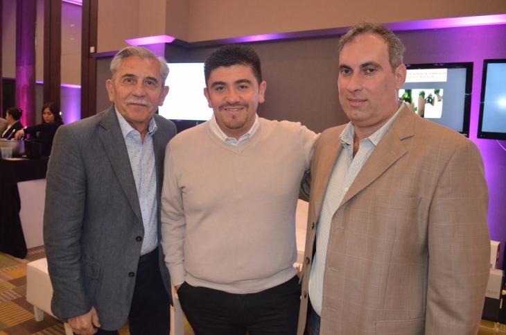 Ernesto Sosa David Sosa y Gabriel Morales propietarios de MEGAPACK