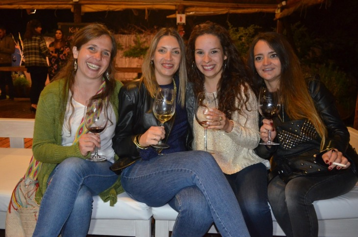 Eugenia Calise, Luciana Ranaldi, Julia Gamero y Carla Angeler