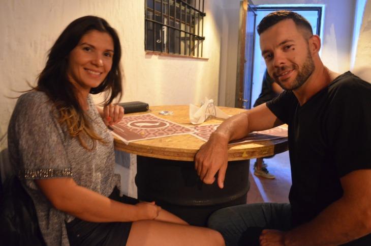 Evangelina Ortiz y Adrian Niscola