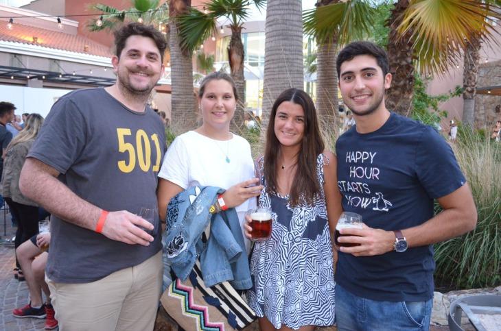 Facundo Ojeda, Agustina de Pellegrin, Sofia Arias y Bruno Gimenez