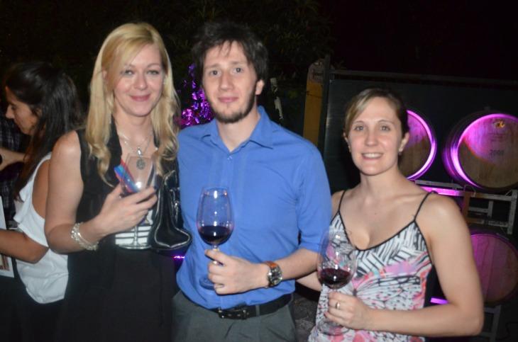 Florencia Vener Adriel Zapata y Verónica Gutierrez