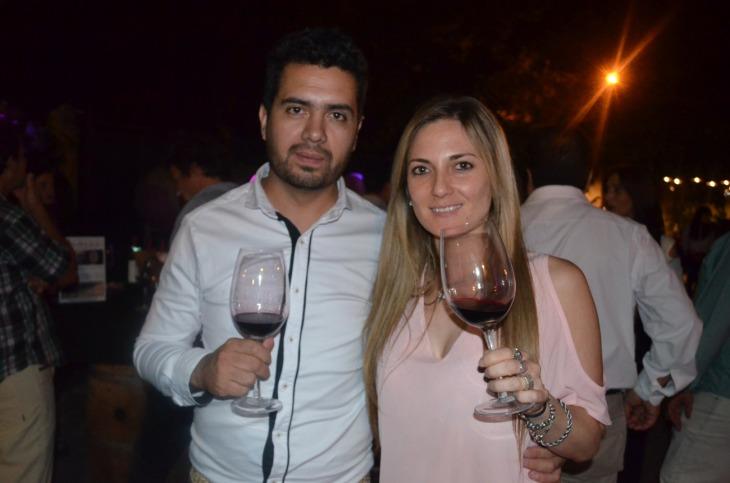Gabriel Muñoz y Paula Gioacchini