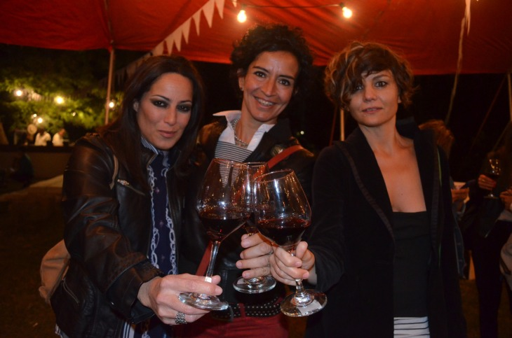 Gachi Dominguez Mariela Tenutta y Carola Lency