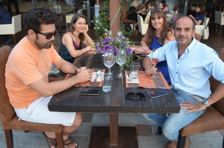 Gastón Lucero Ma Luz Carrillo Yamile Pierantonelli y Horacio Caillet-Bois