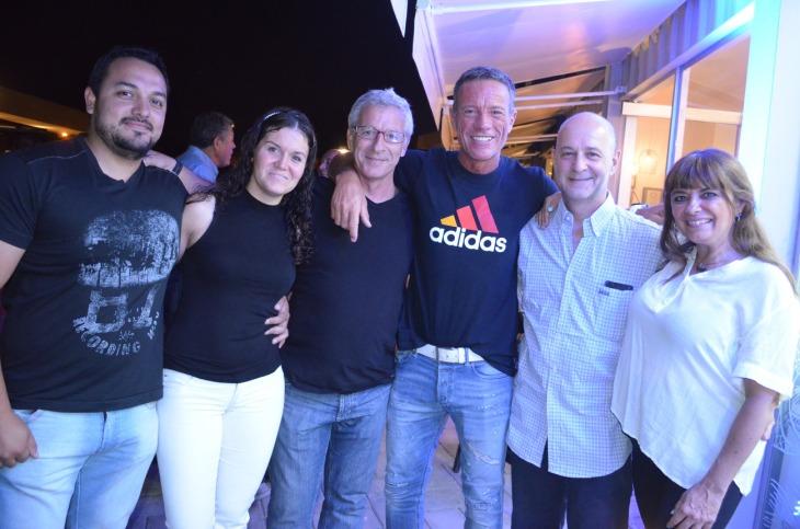 Jorge Tricaza Mariano Giudice Enzo Storani Chimango Di Santo Daniel Weintraub y Marile Blanco