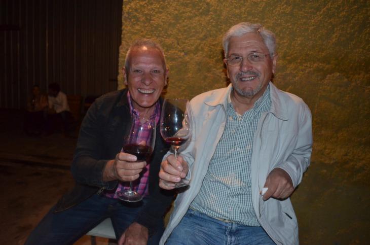 Juan Carlos Abel y Enrique Salinas