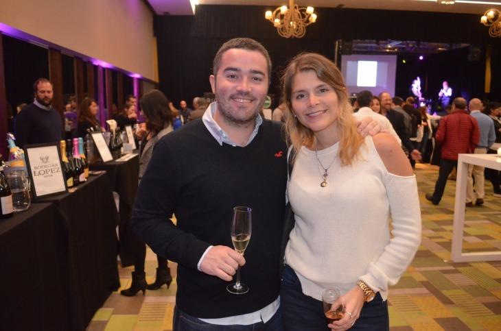Julián Galarraga y Paula Yerfino