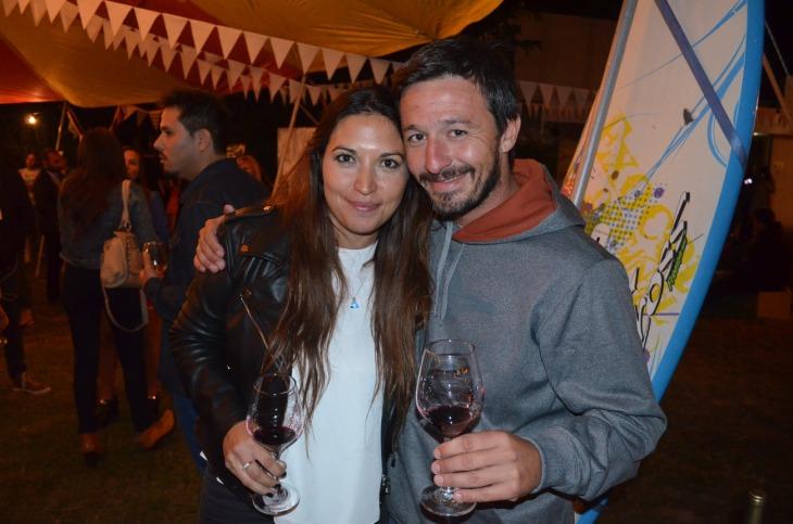 Laura Brito y Mauricio Veggeti