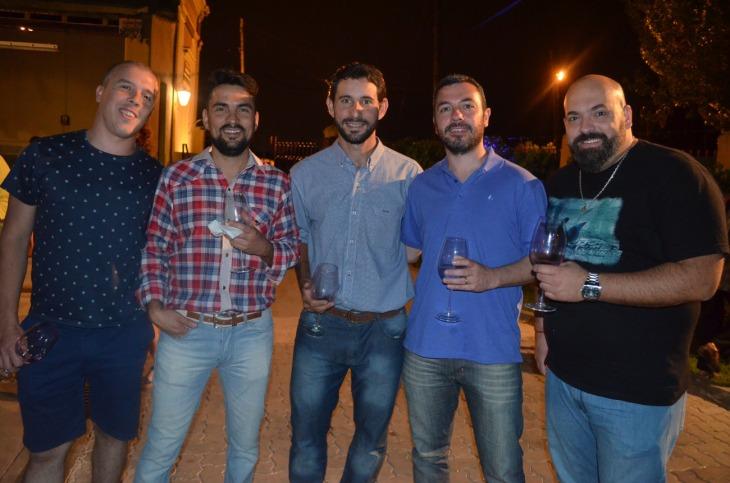 Leandro Durou Leonardo Becerra Silvano Stocco Gonzalo Pianni y Carlos Vita