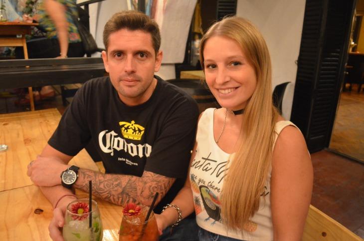 Leandro y Daniela