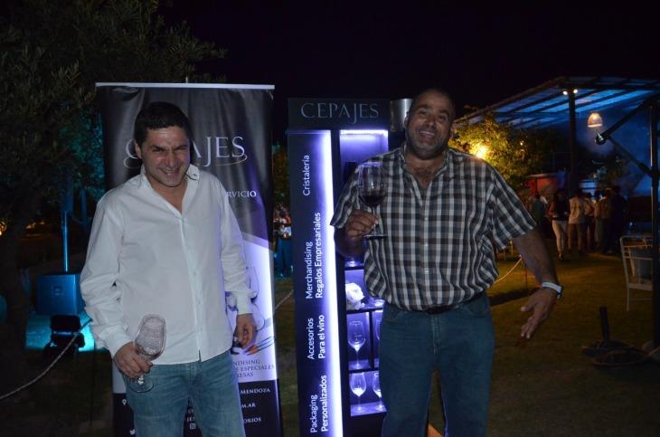 Marcelo Afif de Cepajes y Pepe Reginatto