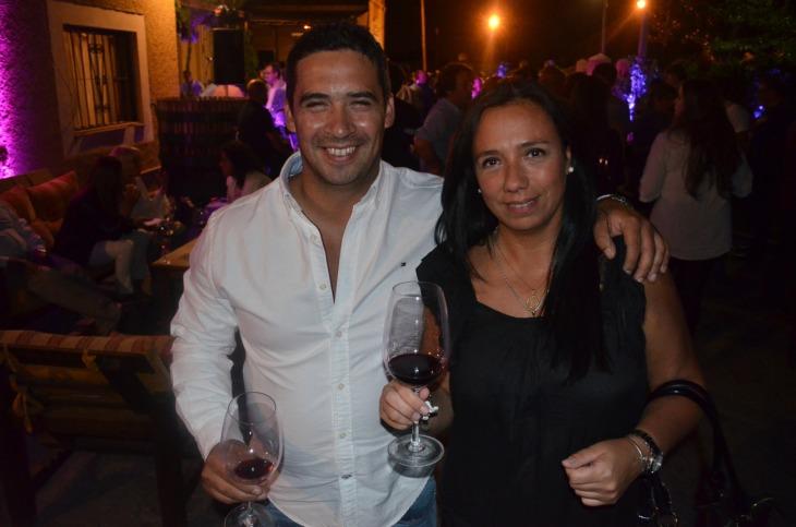 Mariano Alsamora y Lorena Freixas