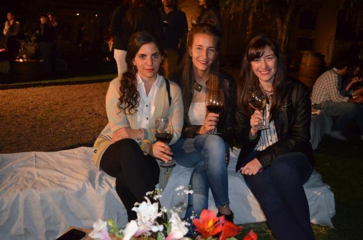 María Iza, Daiana Castillo y Emilia Manzano