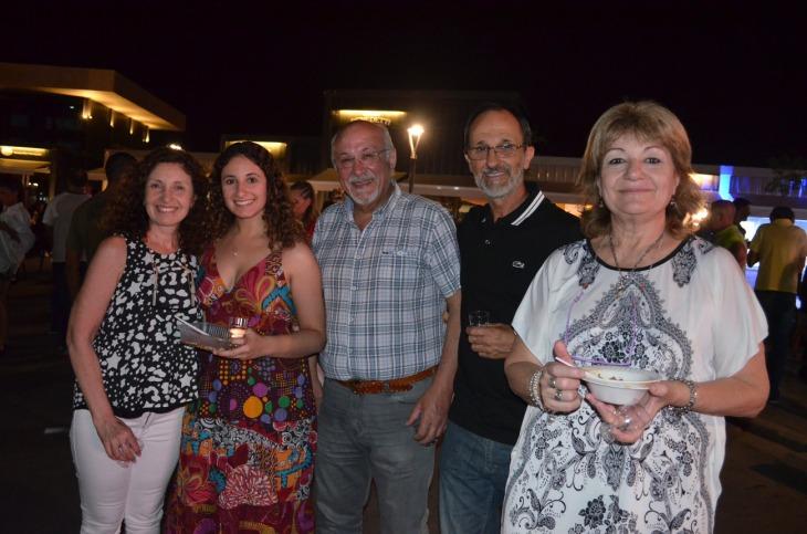 Mariel Espada Valenta y Raul Di Francesco Lalo Atencio y Liliana Basilico