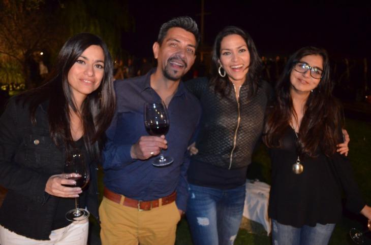 Marina Tagua, Martin Nieto, Sabrina Tagua y Marisa Torres