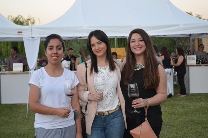 Micaela Morales, Jorgelina Arruti y Zai Alvarez