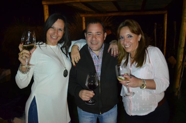 Monica Simois, Eduardo Godoy y Silvia Tovar