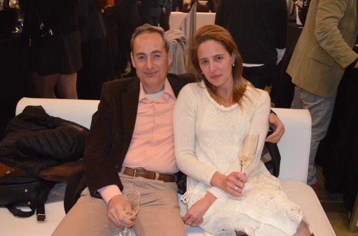 Natacha y Ariel Ambrogi