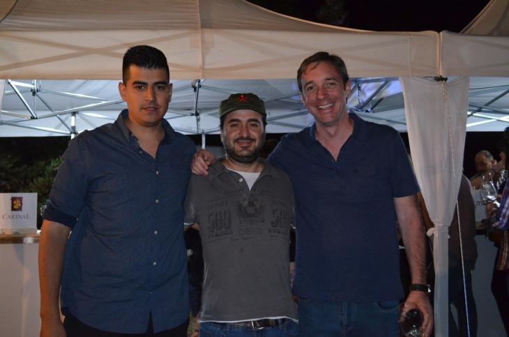 Nicolás Colasso, Pablo Sance y Fernando Gabrielli