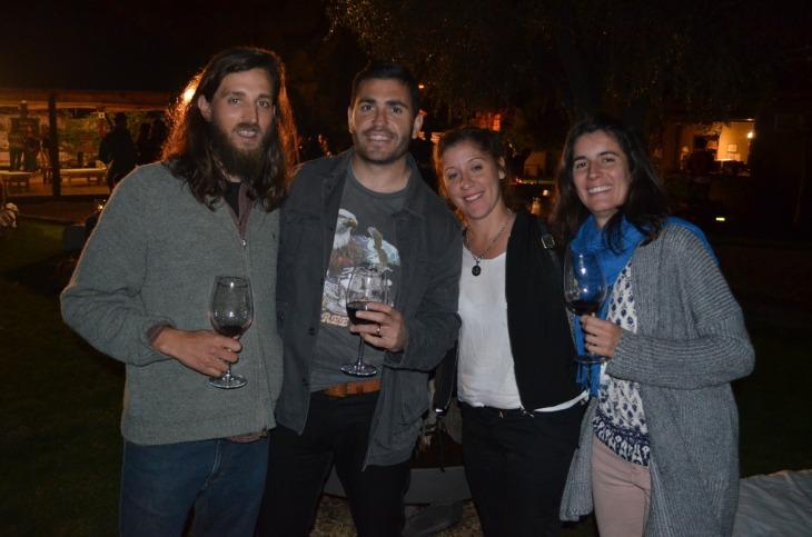 Pablo Caparros, Lucas Moran, soledas Rama, Mariana Rodriguez Rolfi