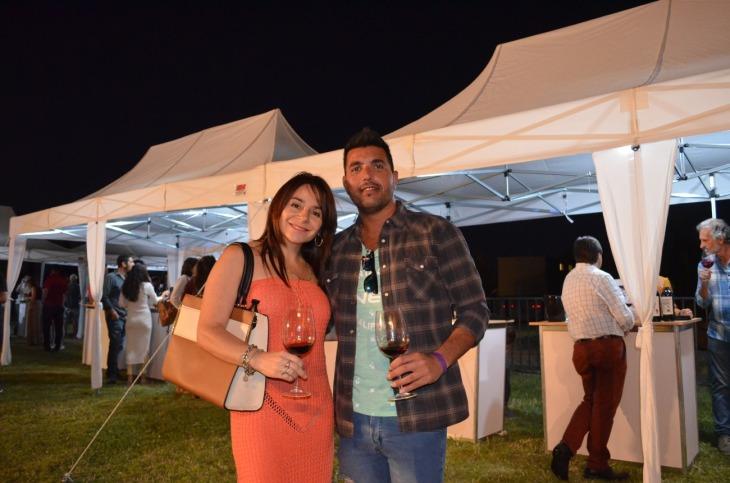 Patricia Castro y Cristian Chatore