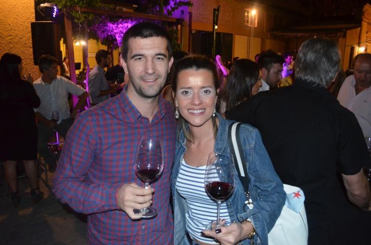 Pierrick Thouement y Constanza Mirón
