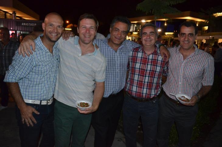 Rubén David Diego Carpanzano Ale Aguilera Jorge Colomer y Federico Corsino
