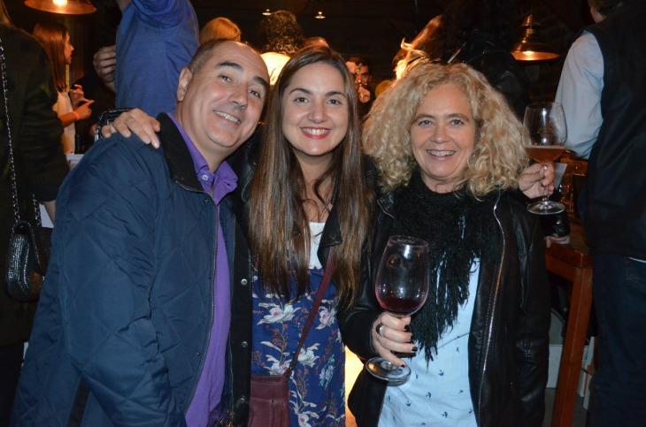 12-Santiago Laugero (Presidente de la Cámara Hotelera) junto a Lilia Sance y Alejandra Rapacioli