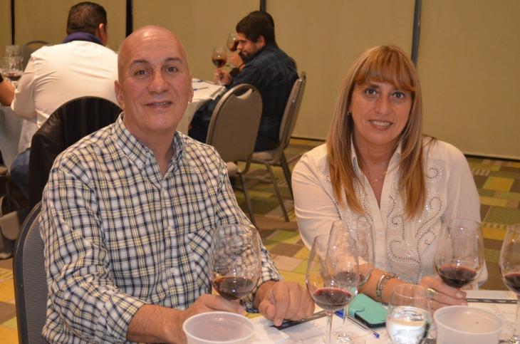 Alfredo Maresca y Andrea Duarte