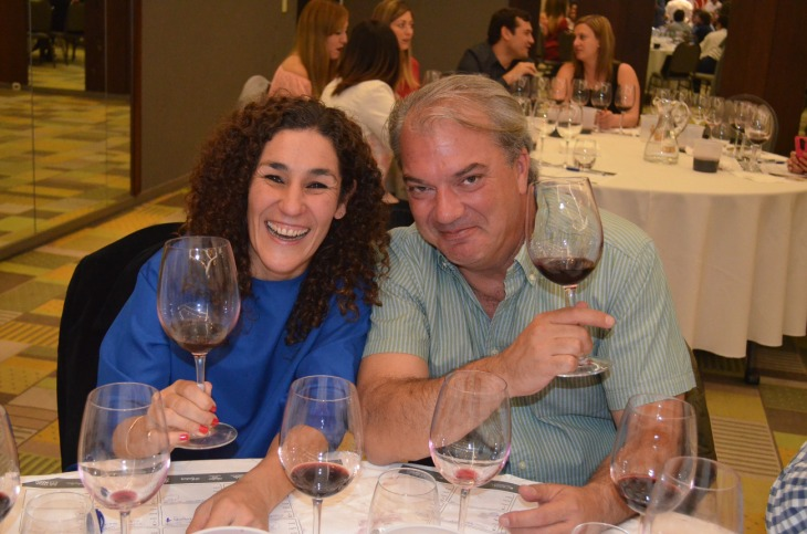 Amalia Ressia y Luis Barberousse