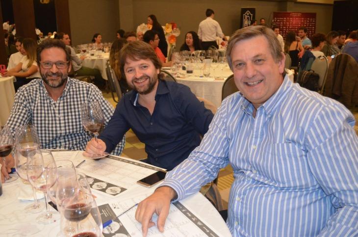 Mariano Biondolillo Roby Riedel y José Luis Biondolillo