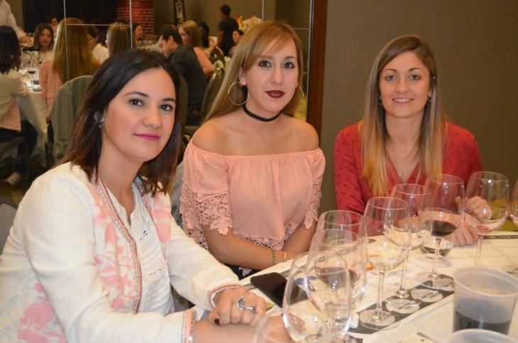 Marlene Sosa Yamila Salvador y Mariel Coria