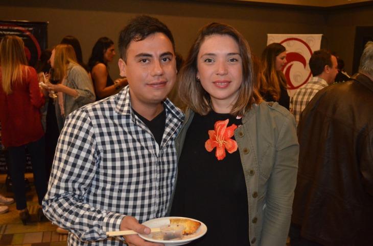 Matias Herrera y Natalia Salcedo
