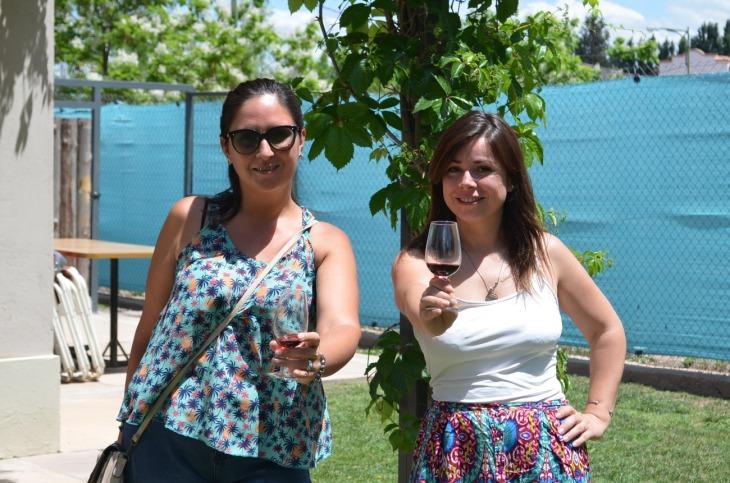 Fernanda Asencio y Eva Mena