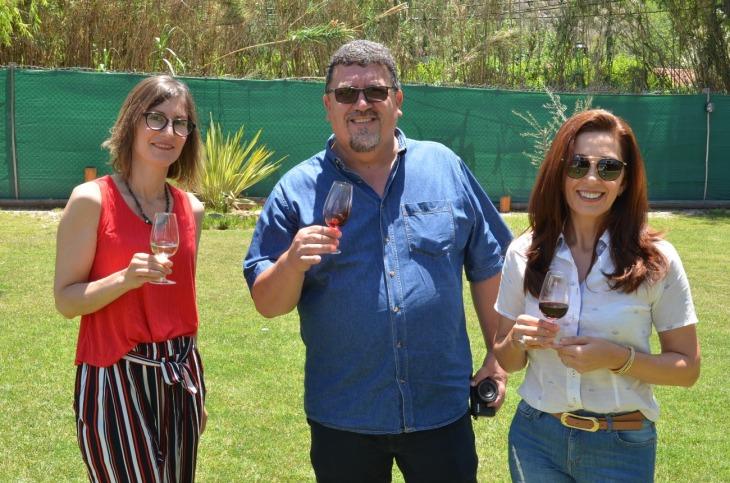 Patricia Martínez Marcelo Wallermann (Mendoza para Brasileiros) y Josi Pieri
